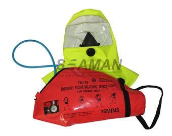 EC / MED 15 Dakika Hava Basınçlı Hava Solunum Cihazı Acil Kaçış Solunum Cihazı - EEBD
